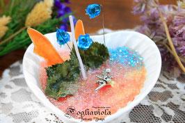 Candela Fairy Legend: Porcellana con Anello, Cocco e Tonka