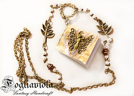Tiny Book Necklace: collana Angel