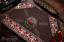 Diario Luxury: Tudor Queen + Segnalibro
