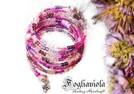 Bracciale enchanted purple