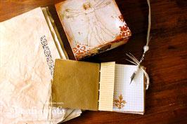 Leonardo da Vinci Book Box