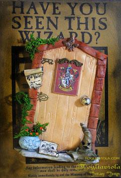 Porta delle Fate: Hogwarts Door - Personalizzala col tuo nome!