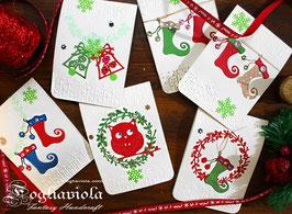 Cartoline di Natale (3pz)