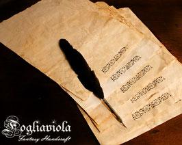 Carta Pergamena A4 fatta a mano
