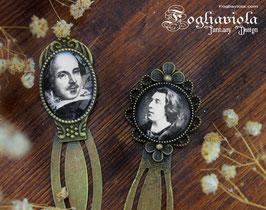 Segnalibri Shakespeare & Wilde
