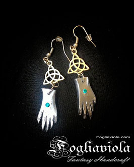 Witch earrings: These Little Hands