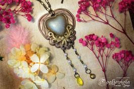 Steampunk Love Necklace