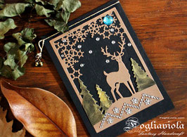 Deer Card: Auguri di Bosco