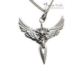 Black Angel Pirate necklace