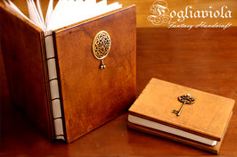 Wooden Journal in legno di Noce