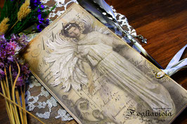 Junk Notebook Angel / Kit Creativo Fai da Te!