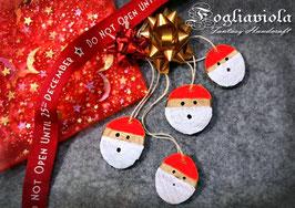 Decori Babbo Natale (4pz)
