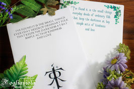 Quaderno Ispirazione d'Autore: Tolkien