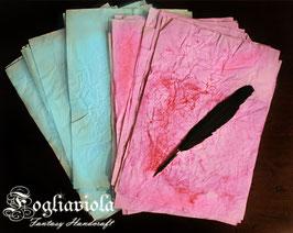 Carta Pergamena Colorata (10pz)