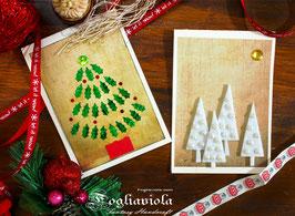 Cartoline Alberi di Natale