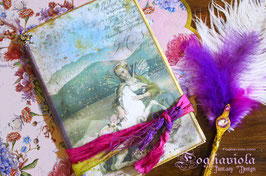 Junk Notebook Fairy Unicorn