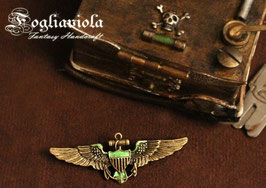 Steampunk Aviator Brooch