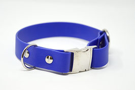 Halsband & Leine aus Biothane blitzblau