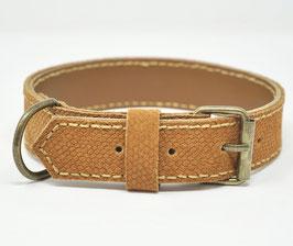 LAGERABVERKAUF Büffelleder Halsband Schlange Größe S/M