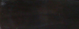 """Plaque de Corne de Buffle couleur """"Ebène"""" 165mm X 60mm épaisseur 4mm"""