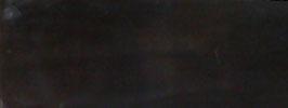 """Plaque de Corne de Buffle couleur """"Ebène"""" 165mm X 60mm épaisseur 6mm"""
