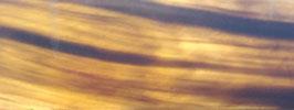 """Plaque de Corne de Buffle couleur """"Sycomore"""" 165mm X 60mm épaisseur 6mm"""