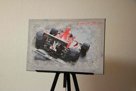 Ferrari Ziellinie at Monaco 2018
