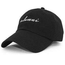 Tha Alumni - Script Dad Hat (Zwart)