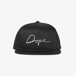 DOPE - Script Snapback (Zwart)