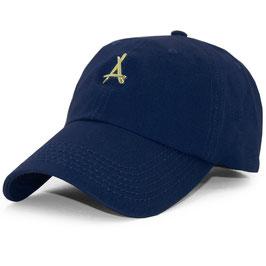 Tha Alumni - 24K Dad Hat (Navy)