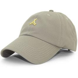 Tha Alumni - 24K Dad Hat (Khaki)