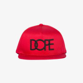DOPE - Classic Logo Snapback (Rood)