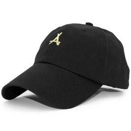 Tha Alumni - 24K Dad Hat (Zwart)