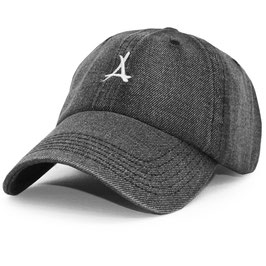 Tha Alumni - Denim Dad Hat (Zwart)