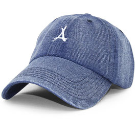 Tha Alumni - Denim Dad Hat (Blauw)