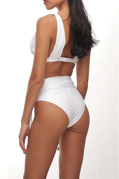 WHITE HIGH WAIST 2WAY BOTTOM