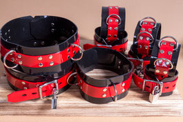 9 Teiliges Fesselset inklusive Halsband *abschließbar*