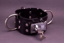 Halsband 6cm breit aus 3mm starken PVC, abschließbar