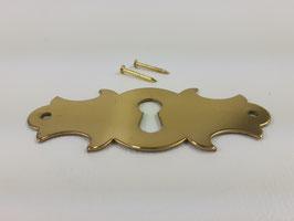Schlüsselschild, Messing, 13014