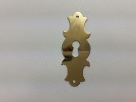 Schlüsselschild, Messing, 13015