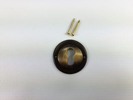 Schlüsselschild Rund, antik, 13007