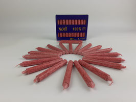 Baumkerzen Rot, 5 Packungen á 20 Kerzen