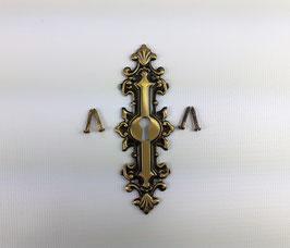 Schlüsselschild, antik, 13003