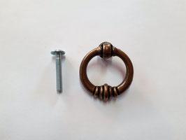 Ring- Griff, rund, geschwungen, Antik