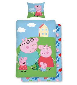 Jugend- und Kinderbettwäsche  PIG PEPPA