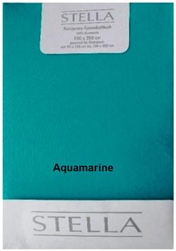 """Jersey - Fixleintuch für Boxspringbetten  """"Aquamarine"""""""
