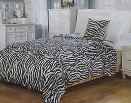 Fleece Decke Zebra
