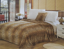 Fleece Decke Leopard