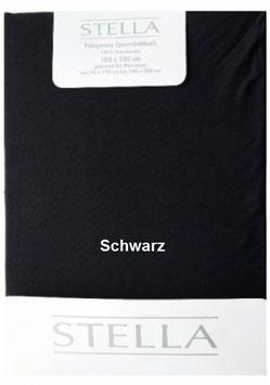 """Jersey - Fixleintuch für Boxspringbetten  """"Schwarz"""""""