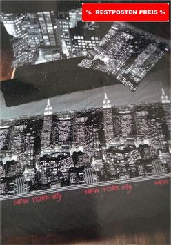 Baumwoll Bettwäsche Dessin New York City